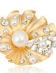 Mode Frau Legierung Shell Brosche