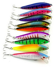 1 pcs Minnow Hard Bait Fishing Lures Hard Bait Random Colors Hard Plastic Sea Fishing