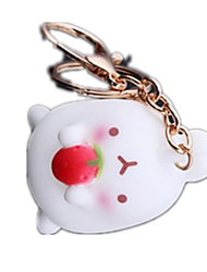 Key Chain Rabbit Key Chain Metal
