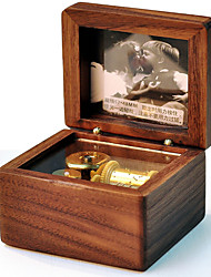 Music Box Square Novelty Wood Boys' Girls'