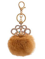 Key Chain Sphere Key Chain Orange Metal / Plush