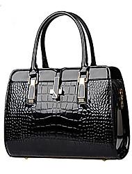 M.Plus® Women's Casual Crocodile PU Leather Messenger Shoulder Bag/Tote