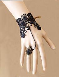 Lolita Jewelry Gothic Lolita Lolita Lolita Black Lolita Accessories Necklace / Bracelet/Bangle Lace For Men / Women Lace
