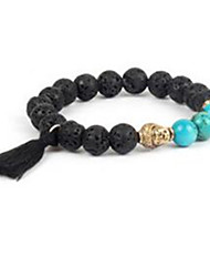 Women's Strand Bracelet Beaded Agate Jewelry For Casual