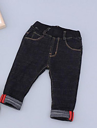 Boy Going out Casual/Daily School Solid Jeans-Cotton Winter Fall