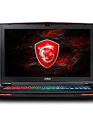 msi portátil de jogos gt72vr backlit de 17,3 polegadas Intel Core i7 quad 8GB de RAM de 1 TB SSD de 128 GB Windows 10