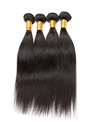 4 Bundle Per Lot Malaysian Straight Virgin Hair Extension Weaves wefts 100g 8-30inch Human Hair Unprocessed Texture Type Style