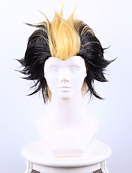 Exorcist Kyoto does not net Pluto wins  Long Shi black between the Yellow  Short Hair Cosplay High Temperature Wire Wig
