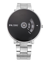 Paidu Made Pidegree Men Strip The Trend Of Personalized Large Dial Quartz Watch