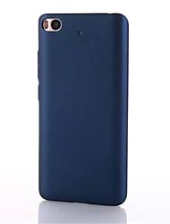 Pour Ultrafine Coque Coque Arrière Coque Couleur Pleine Dur Polycarbonate pour XiaomiXiaomi Mi 5 Xiaomi Mi 4 Xiaomi Mi 5s Xiaomi Mi 5s