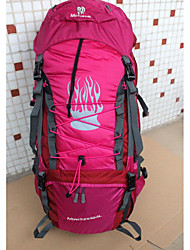 80 L Rucksack Camping & Hiking Outdoor Waterproof Zipper Multifunctional Others Nylon Others