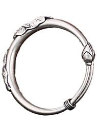 Pulseiras Bracelete Prata de Lei Personalizado Diário Casual Jóias Dom Prateado,1peça