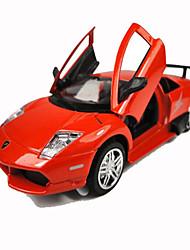Jouets Jouets de voiture Métal Noir Rouge Loisirs