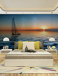 JAMMORY Art DecoWallpaper For Home Wall Covering Canvas Adhesive required Mural Sailing in The Sea XL XXL XXXL
