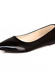 Для женщин На плокой подошве Удобная обувь Оригинальная обувь Босоножки Синтетика Дерматин Полиуретан Весна Лето Осень ЗимаСвадьба Для