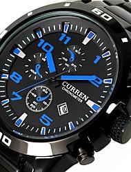 Man CURREN Fashion Leisure All Steel Quartz Watch