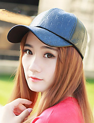 2017 New Winter Five-Star PU Leather Baseball Cap Male Ladies Fashion Lovers Peaked Cap