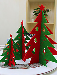 Hollow Out 3 D Christmas Tree Christmas Decorations
