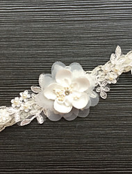 Garter Lace Flower Lace Ivory