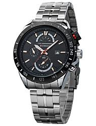 CURREN8148 Kuran The Black Men's Business Casual With Calendar Strip Quartz Watch