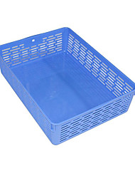 Desktop Office File Basket Plastic Fashion Minimalist A4 File Box Blue