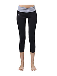 Yokaland Women's Running Pants Quick Dry Breathable Compression Ultra Light Fabric Tights Leggings forYoga Pilates Exercise & Fitness