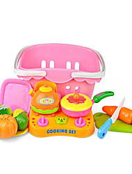 Pretend Play Leisure Hobby Toys Novelty Vegetables ABS Rainbow For Boys For Girls