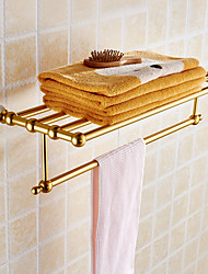 Towel Racks Towel Holder Towel Rack Space Alumnium & Ceramics Made Chrome Finish Bathroom Accessories