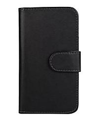 couleur unie cuir PU corps entier étui de protection pour Huawei Ascend g6