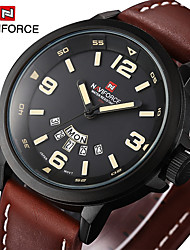 Men's Tidal Current Week Time Waterproof Belt Quartz Watch