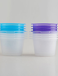 4 in 1 Set BPA Free PP Material Storage Containers for Food