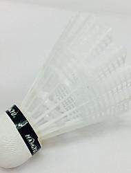 Bola de Badminton(DENailom,Amarelo Branco) -Durabilidade