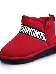 Girl's Boots Spring Fall Winter Comfort PU Casual Low Heel Others Black Red Other