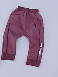 Boy Casual/Daily School Solid Pants-Cotton Winter Fall