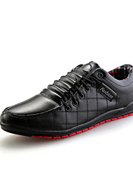 New Arrival Men's Fashion Oxfords Comfort Business Shoes Casual Leather Shoes Flat Heel Lace-up More Color EU39-43