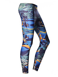 Mulheres 1mm Calça de Mergulho Mergulho Skins Prova-de-Água Térmico/Quente Secagem Rápida Resistente Raios Ultravioleta Vestível