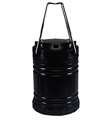 YouOKLight® Portable Stretchable Outdoor Camping Solar Powered LED Emergency Lantern Lamp - Black (use 3A battery)