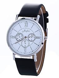 Муж. Нарядные часы Модные часы Наручные часы Китайский Кварцевый Кожа Группа С подвесками Разноцветный