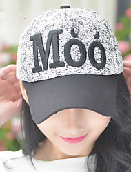 2017 Spring And Summer New Women'S Round Standard English Alphabet Baseball Cap Fashion Cap