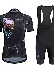 AOZHIDIAN Summer Cycling Jersey Short Sleeves BIB Shorts Ropa Ciclismo Cycling Clothing Suits #AZD009