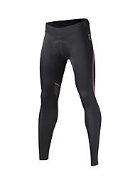 SPAKCT® Calças Para Ciclismo Mulheres Respirável Secagem Rápida Moto Meia-calça 100% Poliéster Ciclismo/Moto Corrida Primavera Outono