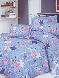 Solid Duvet Cover Sets 1 Piece Cotton Poly/Cotton Pattern Reactive Print Cotton Poly/Cotton Twin4pcs (1 Duvet Cover 1 Flat Sheet 2