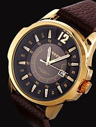 Men's Fashion Calendar Steel Waterproof Quartz Watch