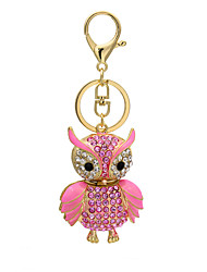 The new diamond diamond pendant creative owl bag