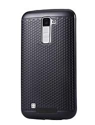 Pour Etanche à la Poussière Coque Coque Arrière Coque Couleur Pleine Dur Polycarbonate pour LG LG K10 LG K8 LG K5 LG G5 LG V20 LG X Power