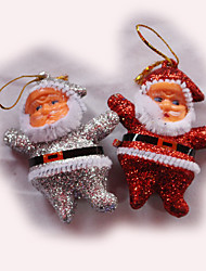Christmas Decorations Accessories Six Small Old Man
