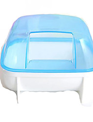 Hutches Plastic Blue