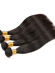 Indian  4 Bundle Per Lot Straight Virgin Hair Extension Weaves wefts 100g 8-30inch Human Hair Unprocessed Texture Type Style