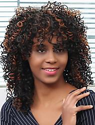 Африканский рулон ColorMix фигурные синтетические парики для женщин BLAK