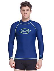 Dive&Sail Men's 1mm Dive Skins Wetsuit Top Diving Rash GuardWaterproof Thermal / Warm Quick Dry Ultraviolet Resistant Anti-Eradiation